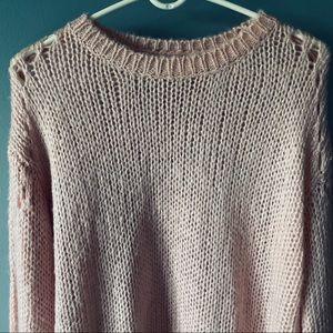 Tularosa Tops - Tularosa Mia open knit sweater